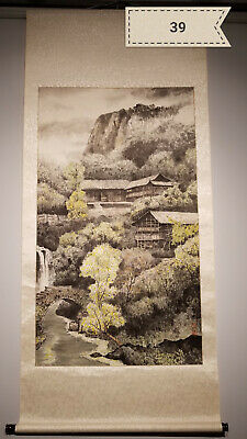 Zeng gang  landscape Antique Scroll