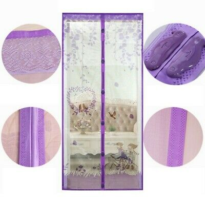 Special Curtain NetDoor M-esh Magnetic Hands Free Fly Mosquito Bug Insect Screen