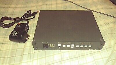 Kramer VP-419XL Digital Scaler with universal power adapter and vga cable