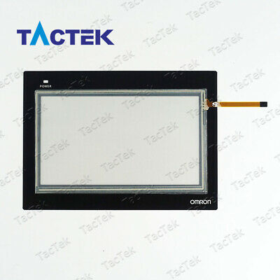 Touch Screen Panel Glass Digitizer for OMRON NB7W-TW01B NB7W-TW00B with Overlay