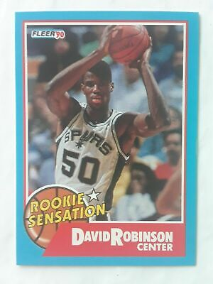 1990 91 Nba Hoops Action Photos 91n5 David Robinson San Antonio
