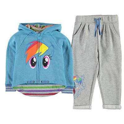 MY LITTLE PONY:2016 NEW JOG SET,4/5,5/6,7/8,9/10yr,NEW WITH TAGS