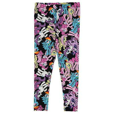 My Little Pony: Multi Print Leggings 3/4,4/5,5/6,7/8,9/10Yr,New With Tags