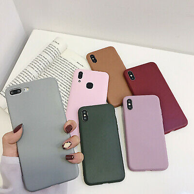 Silicone/Leather Case For iPhone X XS Max 6 7 8 Plus Genuine OEM Cover