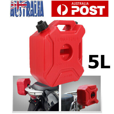 5L Jerry Can Fuel Tank Container Motorcycle Spare Petrol Container Heavy Duty AU