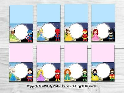 Name Party Decoration Tent Cards Pirate Food Labels