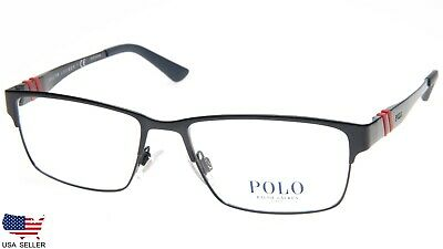 1bc21fe3600f NEW POLO RALPH LAUREN PH 1147 9119 MATTE BLUE EYEGLASSES FRAME 54-16-145