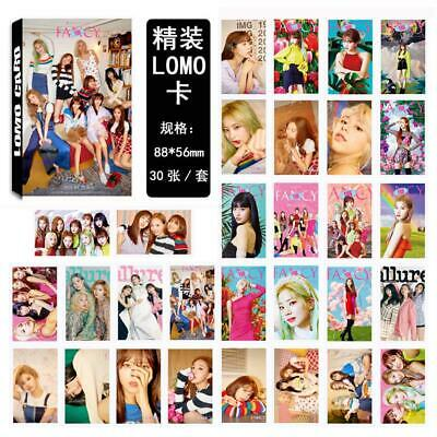 Kpop Twice Fancy You Paper Lomo Photo Card New Album Collective Photocard Poster