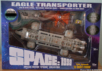 "Sixteen 12 Space 1999 Eagle Transporter ""The Immunity Syndrome"" Diecast"