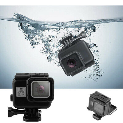 Fit Gopro Hero 7 Black 60m Diving Waterproof Housing Case Cover Protective Shell