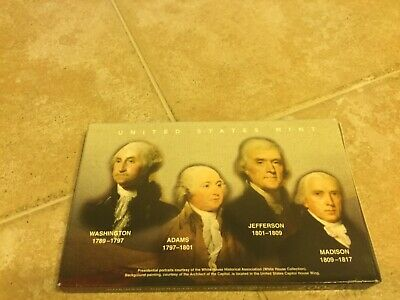 2007 United States Mint Presidential $1 Coin Proof Set w/ COA JM457