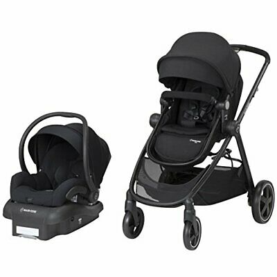 Maxi Cosi Zelia Travel System Night Black Stroller Mico 30 Car