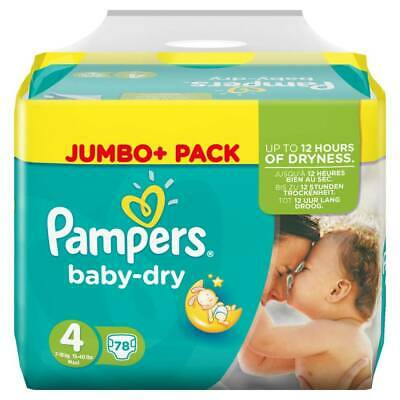 Pampers Babydry Nappy - Size 4 - Pack 86