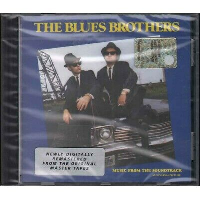 The Blues Brothers ‎CD The Blues Brothers (Omonimo) OST Sigillato 0075678278723