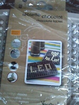 Yoocook Chocolate Tablet Graphic Mould New