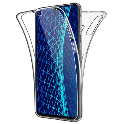 SDTEK Coque pour Samsung Galaxy A40 Silicone 360 Degres Protection
