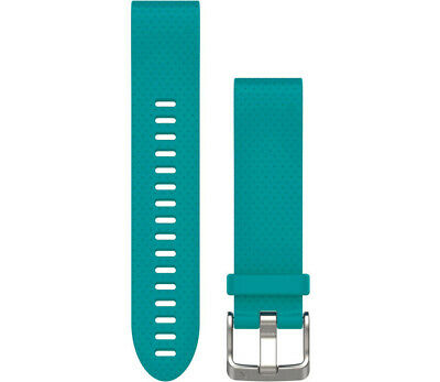Garmin Fenix 5s Quickfit Watch Strap Band Replacement Turquoise - 010-12491-12