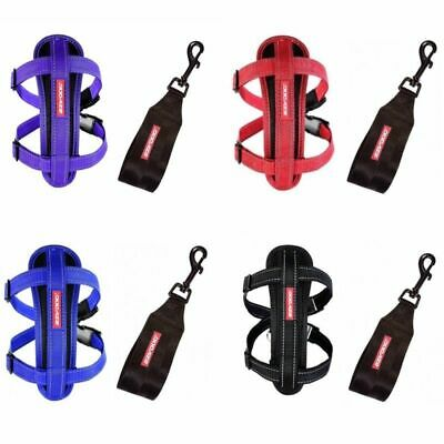 EZYDOG Chest Plate Harness With Free Seat Belt Loop (4 Colours) XS, S, M, L, XL