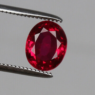 4.7ct Natural Mozambique Pigeon Blood Red Ruby Faceted Cut Uqhb312 Ruby