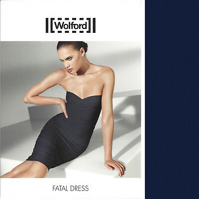Wolford Fatal Dress Gr S//M//L schwarz//braun//lila NEU TOP Kleid Rock 38-40-42-44