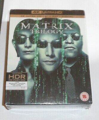 The Matrix Trilogy [1999] (4K Ultra HD)