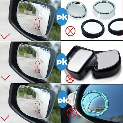 Universal Car Rearview Blind Spot Side Rear View Mirror Convex Adjustable NEW