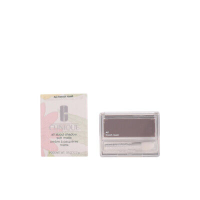 Maquillaje Clinique mujer ALL ABOUT SHADOW soft matte #AC-french roast
