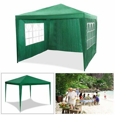 Gazebo Marquee Waterproof Outdoor Canopy Party Tent Garden Tent W/ side New