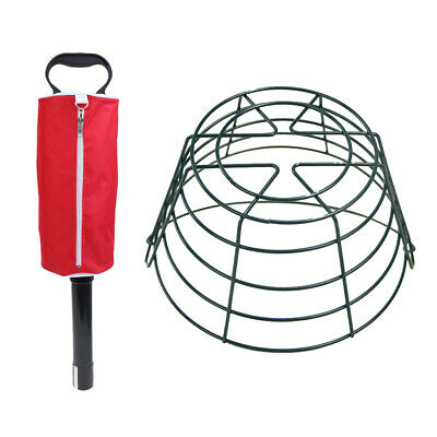 Durable Shag Bag Practice & Range Golf Ball Shagger & Balls Container Basket