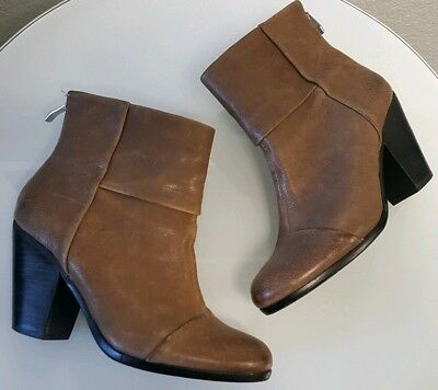 618c048fff2 VINCE CAMUTO SIZE US 9B EU 39 Belta Bootie Ankle Boot Leather Taupe ...