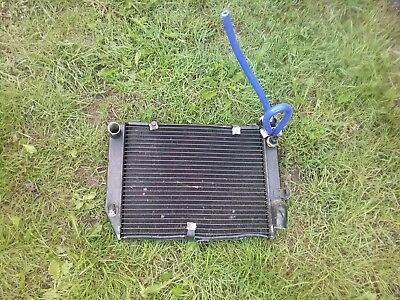 Honda cbr 600 f radiator with cap and fan switch