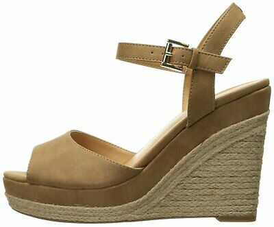 7339f1479cd TOMMY HILFIGER WOMENS kali Fabric Open Toe Casual Platform, Brown ...