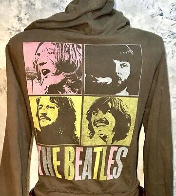The Beatles Band 60s British Rock Pop Art Pullover Top Shirt 297 mv Sweater M L