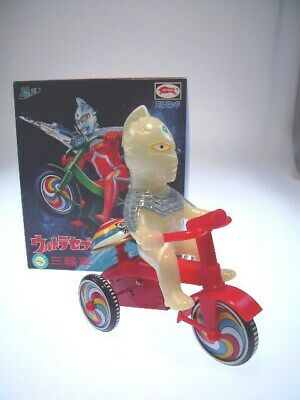 "gsTOP GS JAPAN HEROES ""ULTRA SEVEN TRICYCLE"" BULLMARK, NEU/NEW/NEUFnNEW BOX !"