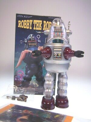 "gsTOP GSR ""ROBBY THE ROBOT"" OSAKA TIN TOY JAPAN, NEU/NEW/NEUF in NEW BOX"