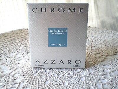 Azzaro Chrome. Eau de toilette, 100ml spray
