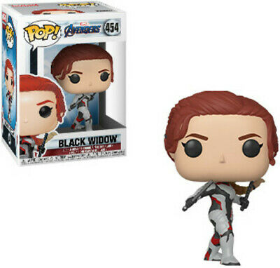 Avengers Endgame - Black Widow - Funko Pop! Marvel: (2019, Toy NUEVO)