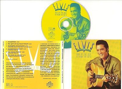 """Elvis Presley Cd """"Out Of The Box Six From The Sixties"""" 1993 Usa Suspicion Promo"""