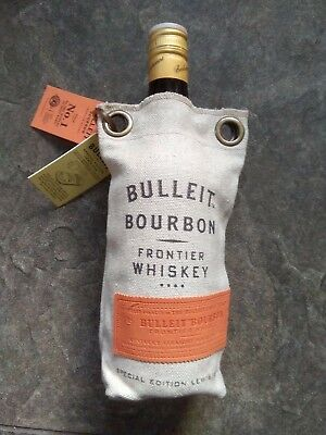 New Bulleit Bourbon Special Edition Ice Crusher Lewis Bag Gift Bag