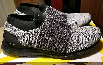 c25157acd Adidas Ultra Boost Core Laceless Mid Men s Black Oreo BB6137 Primeknit Size  11