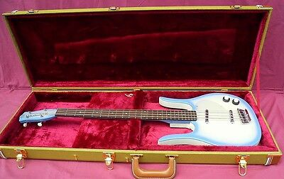 TWEED H/S CASE FITS DANELECTRO ELECTRIC BASS OR GUITAR Longhorn DC59 U2 NEW