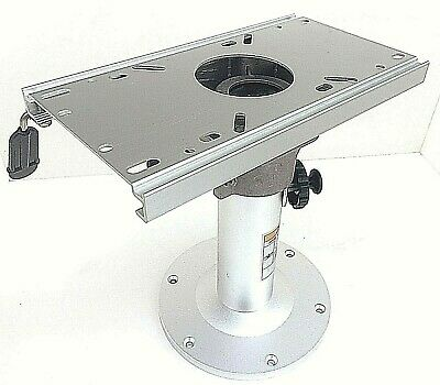 """TWO Adjustable All Aluminum Swival Boat Seat Pedestal 14/""""-17/"""" H* FREE SHIPPING*"""
