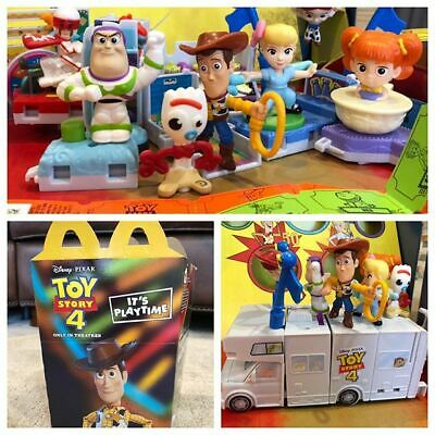 2019 McDONALD'S TOY STORY 4 HAPPY MEAL TOYS! PICK YOUR FAVORITES! SHIPS NOW!