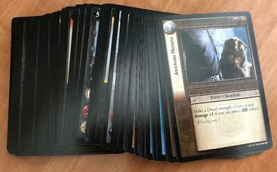 LOTR TCG Lord of the Rings BLOODLINES Common Set - 60 Trading Cards COMPLETE