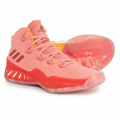 outlet store 7b3e2 a271f ADIDAS SM CRAZY EXP 2017 LA NBA Basketball Shoe SIZE 19 Pink Red Rose CQ0575