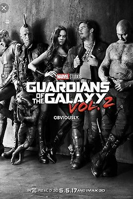 Marvel :: Guardians Of The Galaxy 2 :: Poster Teaser 27x40 DS NEW One Sheet NEW