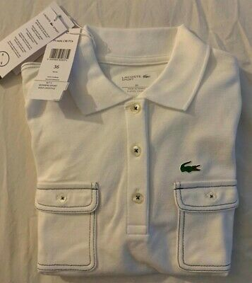 Shirt Size Us 4 Women's Sleeve Polo 36 Long Lacoste Unique QeWdBoxrC