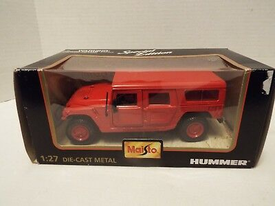 Maisto Special Edition Collection Hummer Station Wagon Die Cast Metal 1:27 Scale