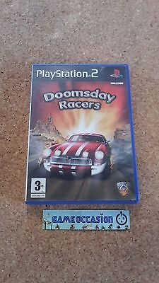 Doomsday Racers/Ps2 Sony PLAYSTATION 2 Pal Complete