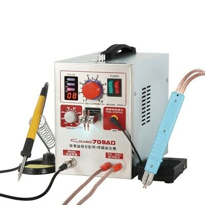 3in1 709AD 220V Pulse Spot Welder Battery Welding Soldering Machine dl45